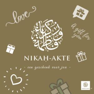 Cadeaukaart product Nikah