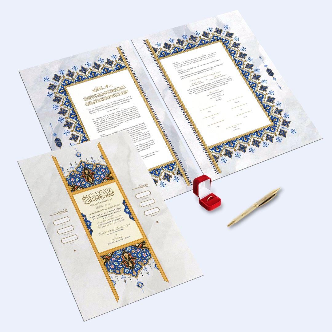 Nikah contract set