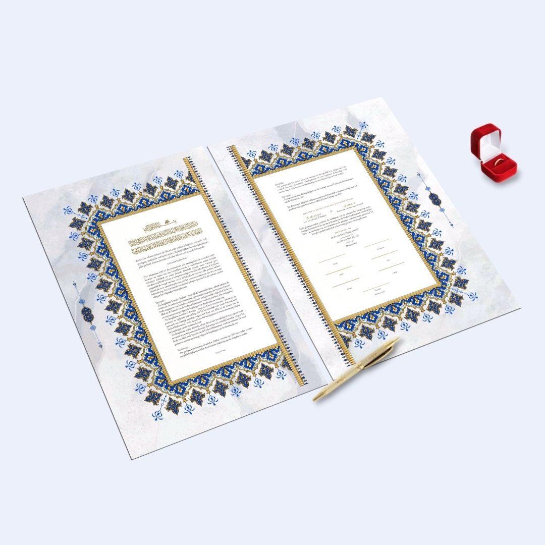 Nikah huwelijk contract