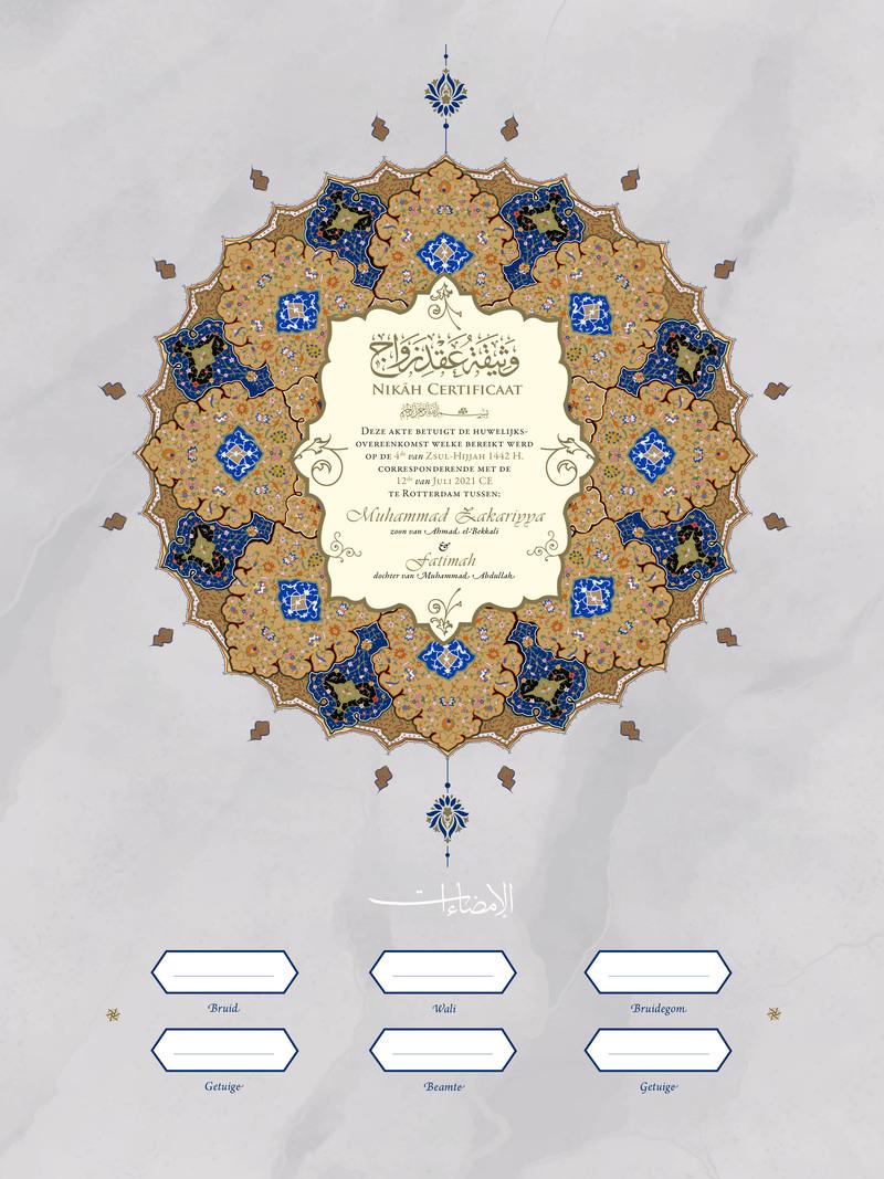 Nikah huwelijk Shamsa